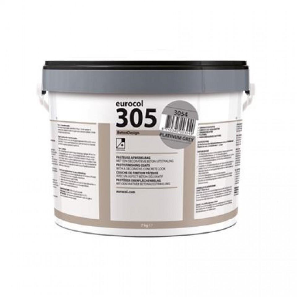 Forbo 305 Beton Design отделочная паста, Balck Grey / 7 кг
