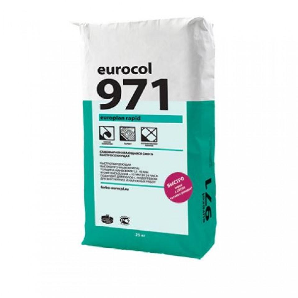 Смесь Forbo Europlan Rapid 971 смесь сухая напольная /25 кг