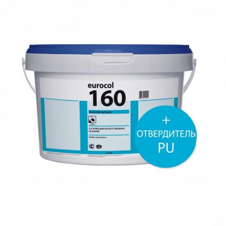 Forbo 160 Euromix Turf Pro combi, 2К ПУ клей для искусственной травы/ 13,8 кг