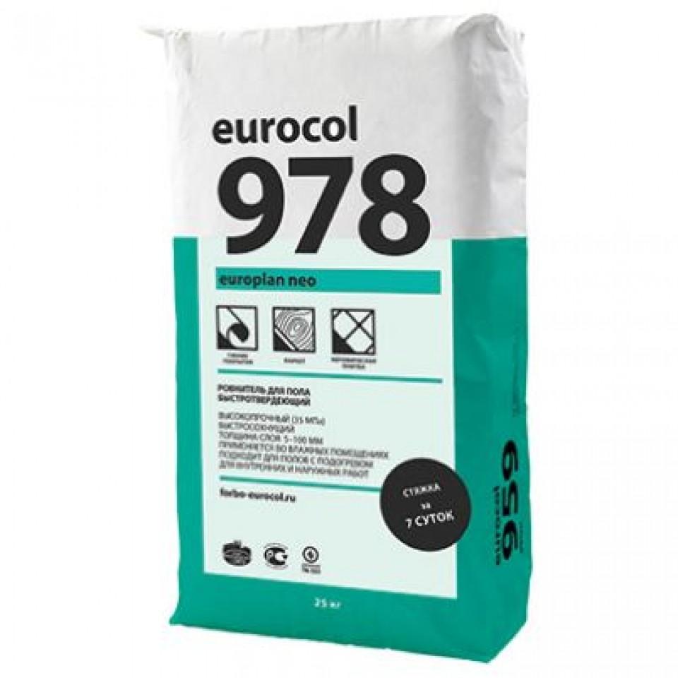 Смесь Forbo 978 Europlan Neo смесь сухая напольная /25 кг